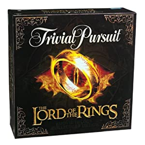 Trivial Pursuit: The Lord of the Rings Movie Trilogy Collector's Edition - 51M7KXA6K5L - Milton Bradley Trivial Pursuit: The Lord of the Rings Movie Trilogy Collector's Edition