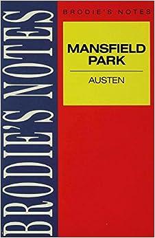 Austen: Mansfield Park (Brodie's Notes)