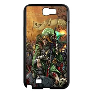 Cell Phone case The Legend of Zelda Cover Custom Case For Samsung Galaxy Note 2 N7100 MK9Q982421