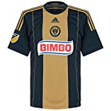 adidas MLS Philadelphia Union Men's Replica Short Sleeve Jersey, Small, Navy