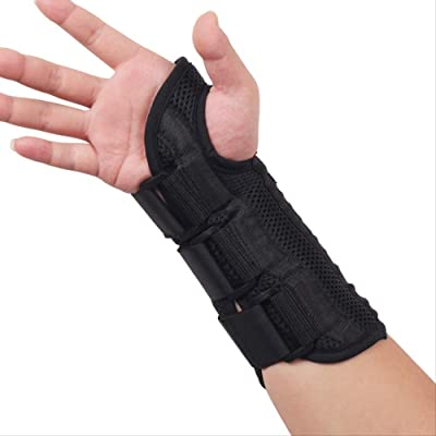 daizi Flexbone Fixed Splint Sport Sprain Wrist Guard Splint Guard : Sports & Outdoors