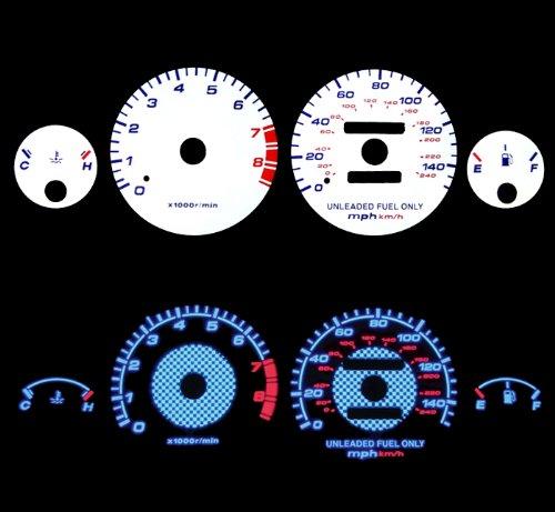 94-01 Acura Integra Rs/gs/ls Mt Blue Indiglo El Gauges
