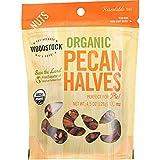 Woodstock Pecan Halves Organic, 4.5 oz