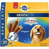 PEDIGREE DENTASTIX Large Dog Chew Treats, Original, 40 Treats