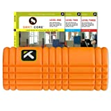 Trigger Point Performance The Grid Revolutionary Foam Roller with SMRT-CORE DVDs (Orange)