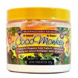 The First Organic Low-Calorie Sweetener That Doesn't Taste Like Chemicals. Coco Monkey by Wilderness Family Naturals - All Natural, All Delicious (Made from prebiotic Inulin, freeze-dried coconut water, and pure monk fruit) - No Funky Aftertaste!