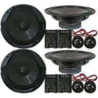 4 x JBL GT7-6C 6.5 2-way Car Audio Component Speakers System GT7 Series
