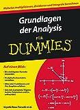 img - for Grundlagen der Analysis Fur Dummies (German Edition) book / textbook / text book