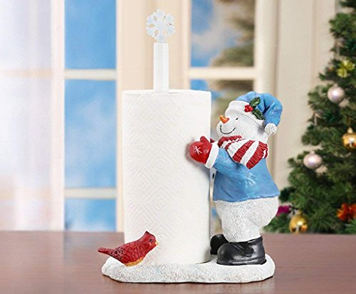 (ZHANGY Toilet Paper Holder Creative Snowman Objects of Decoration Paper Towel Toilet Paper Toilet Paper Hand Hand Kerch Kerch iefs)