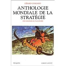 Anthologie mondiale.. strategie