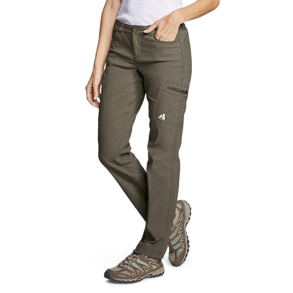 Eddie Bauer Women's Guide Pro Pants, Slate Green Petite 2 by Eddie Bauer