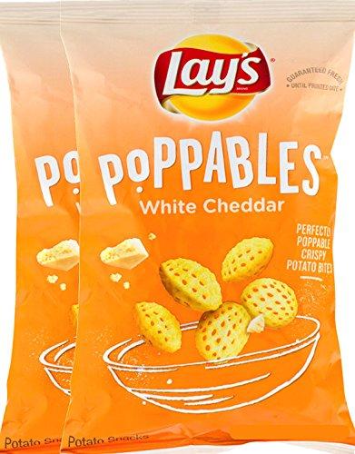 Lays Poppables White Cheddar Perfectly Poppable Crispy Potato Bites Net Wt 5 Oz (2)