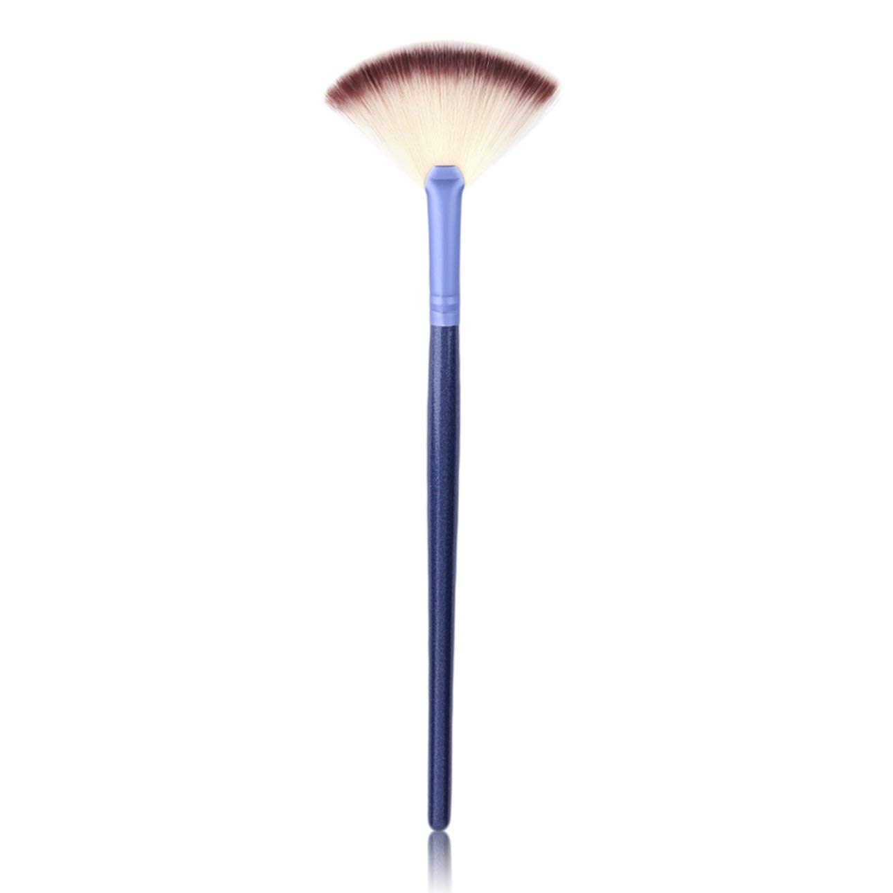 Liobaba Fashion Comfortable Fan Shaped Single Makeup Brush Facial Foundation Beauty Skin Care Tools Cosmetic Brushes