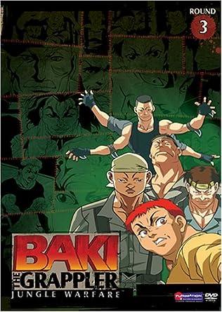 Amazon com: Baki the Grappler, Vol  3: Jungle Warfare