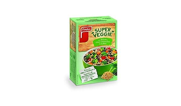 Findus - Super Veggie Brócoli, Trigo sarraceno y Alubias - 400g ...