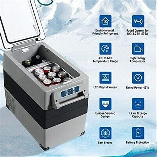 240V - コンプレッサーポータブル電気自動車クーラー冷蔵庫/冷凍庫コンプレッサーキャンプ12V / 24V 110と55Lカー冷蔵庫
