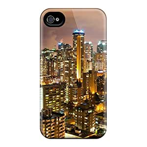 Awesome Vancouver Night Canada Travel Flip Cases With Fashion Design For Iphone 6