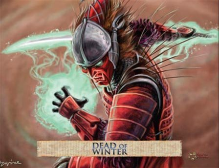 Legend Of The Five Rings CCG: Dead Of Winter Starter Display (6) by AEG