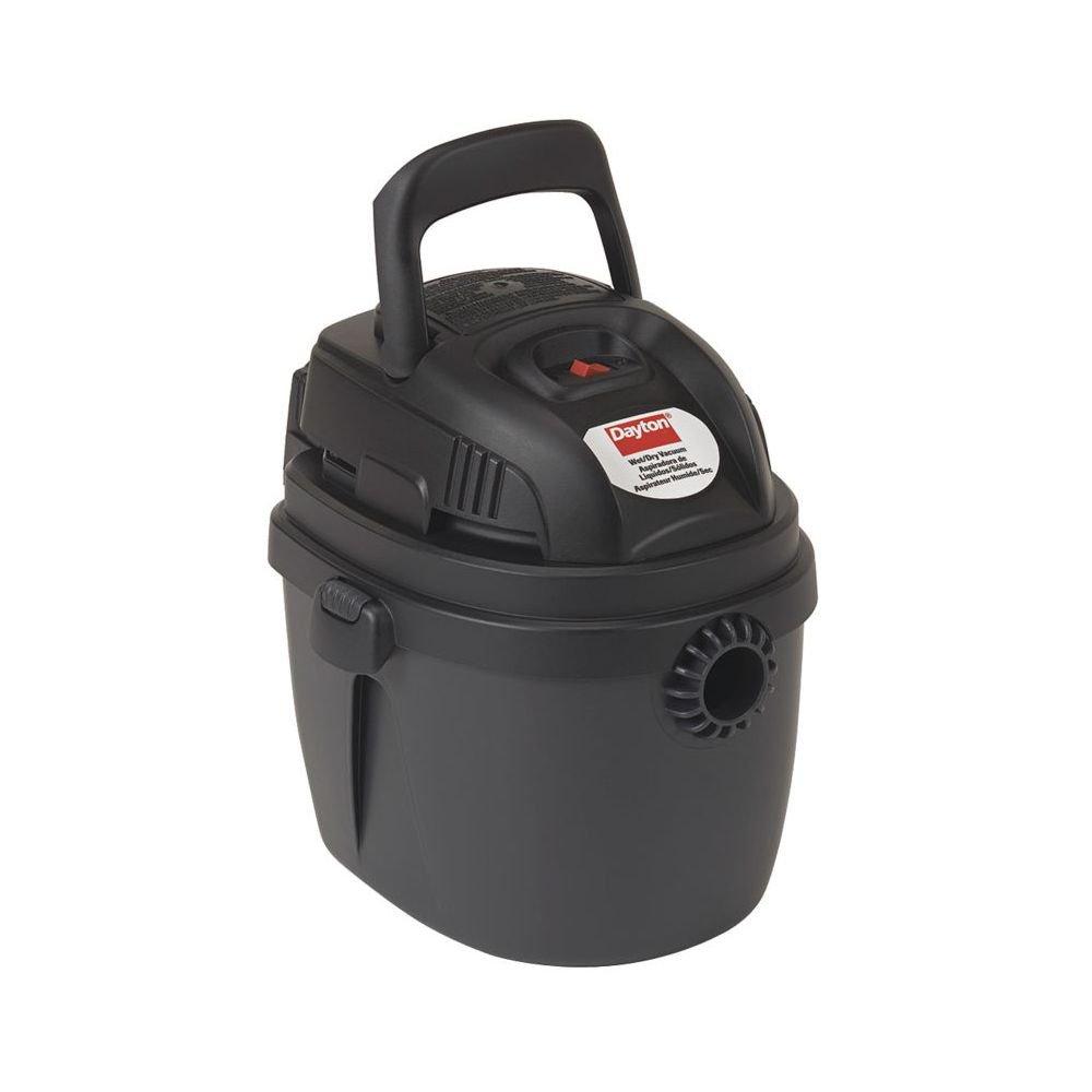 Dayton Wet/Dry Vacuum, I gal Capacity, 120 V