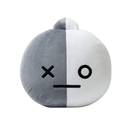 Hommal EWINHUIYING KPOP Cute Cartoon BTS BT21 Plush Doll Toy Bangtan Boys Throw Pillow Cushion 17.7""