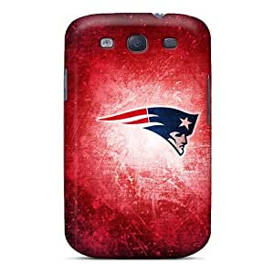 AaronBlanchette Samsung Galaxy S3 Shock Absorbent Hard Phone Cases Unique Design Realistic New England Patriots Series [PZm11153FGTu]