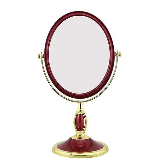 HYX Vanidad Espejo de Maquillaje 360 ° Mesa de rotación encimera ...