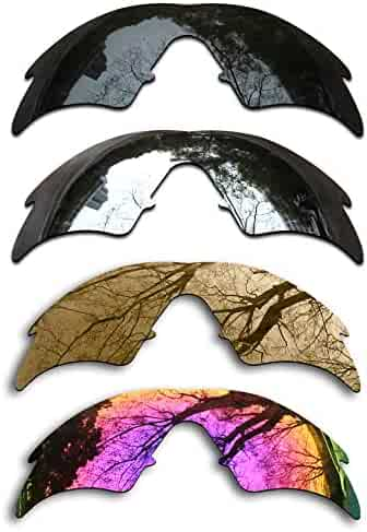 deb712ba6b ToughAsNails Set of 4 Polarized Replacement Lenses for Oakley M Frame Sweep  Pack-BSBM3