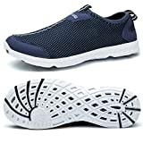 TIANYUQI Women's Water Shoes Mesh Lightweight Walking Shoes