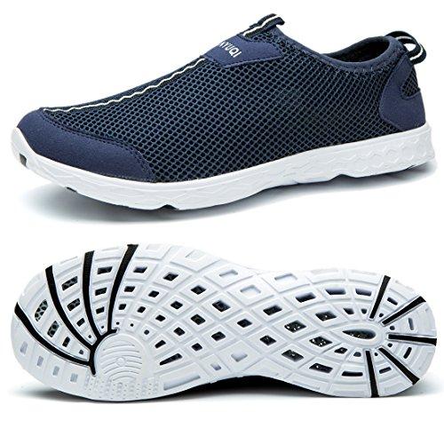 Cusselen Men Air Mesh Quick Drying Sport Water Shoes - Flats Wading Shoes