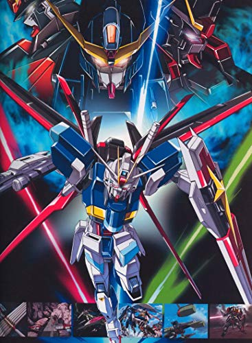 Kidou Senshi Gundam Seed Destiny 24inch x 33inch Plastic Poster - Waterproof - Anti-Fade - Outdoor/Garden/Bathroom - (Kidou Senshi Gundam Seed)