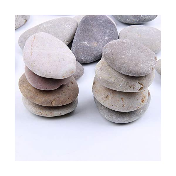 4-Pounds-2-3-inch-Natural-Rocks-for-Painting-Kindness-rocks-Crafting-Party-Pack-Bundle-River-Stones-for-Painting-Crafts–Natural-Smooth-Surface-Arts-Crafting-Rock-Painting-Supplies-for-Kid-Painters