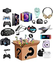 Mistry box electronics gift liquidation boxes returns pallets for sale unclaimed packages bulk blind surprise small electronic best sellers overstock pallet gifts clearance extra large big
