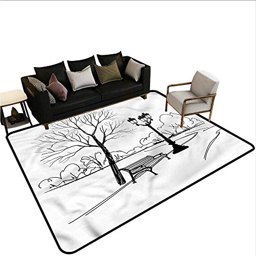 Tree,Floor Mats for Living Room 80