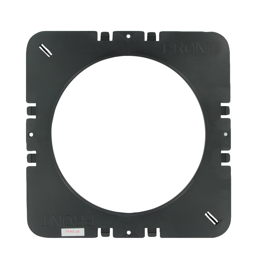 Leviton PCC55 KIT Pre Construction Kit for 6.5 Inch In Ceiling Speakers Black