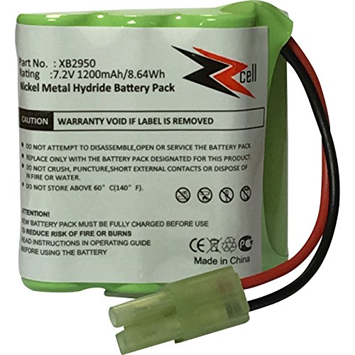 Zzcell Battery For Euro Pro Shark Vacuum Carpet And Carpet