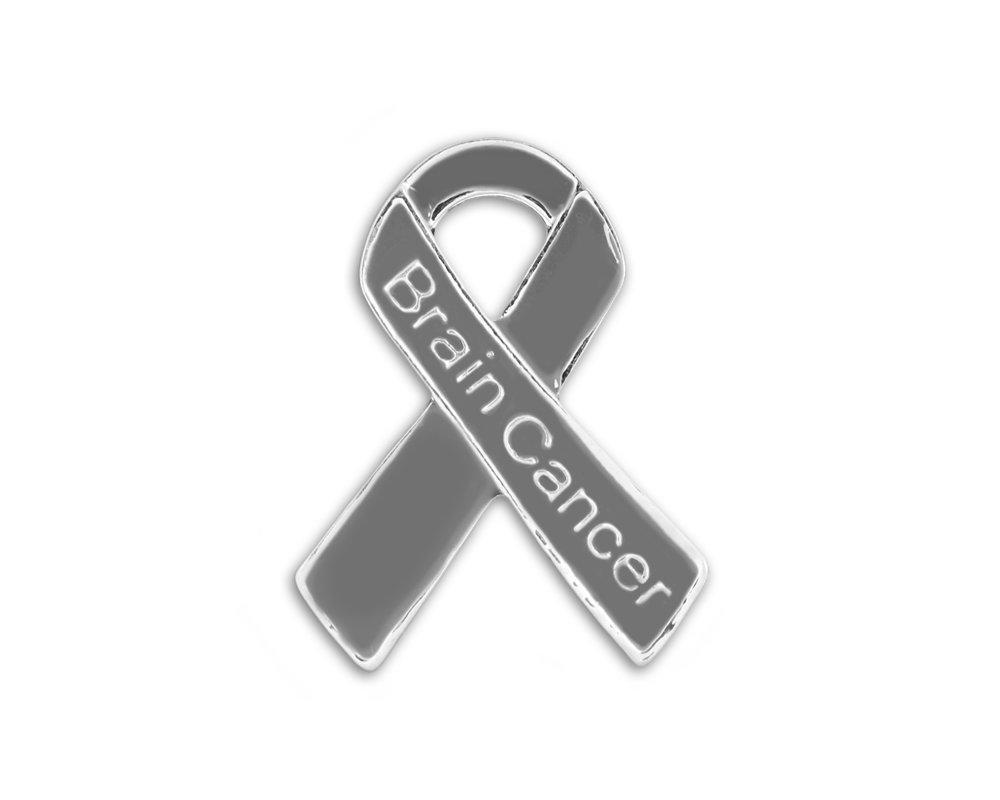 FFAC 25 Pack Brain Cancer Awareness Pins (Wholesale Pack - 25 Pins)
