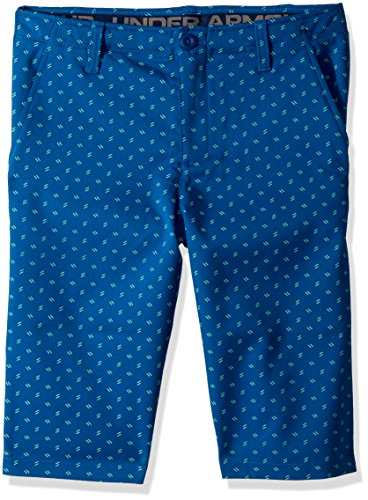 - Under Armour Boys' Match Play Printed Shorts, Moroccan Blue (487)/Moroccan Blue,18