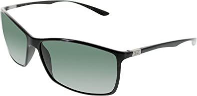 dbdbb5e483 Ray-Ban RB4179 Liteforce Tech Designer Sunglasses - Black Green   One Size  Fits