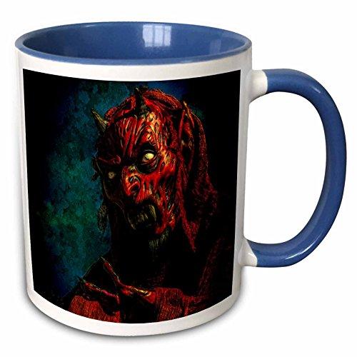 3dRose Chris Lord Sculpture - Devil Demon Halloween