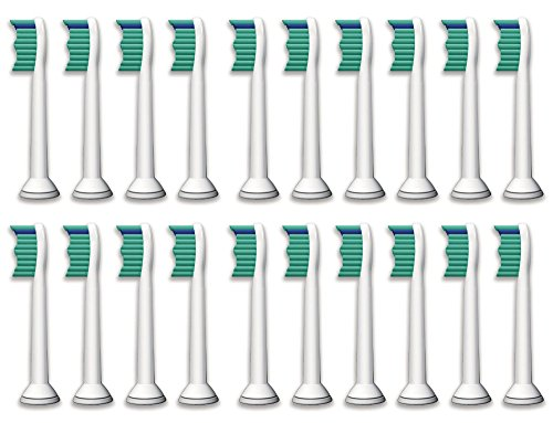 Price comparison product image Littlebird4 Generic Replacement Brush Heads HX6013 HX6014 ProResults Compatible with Philips Sonicare Electric Toothbrush (20)