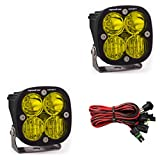 Baja Designs Squadron Sport Pair UTV LED Light Driving Combo Amber Pattern