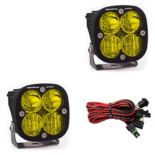 Baja Designs Squadron Sport Pair UTV LED Light Driving Combo Amber Pattern by Baja Designs (Image #3)