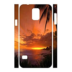 Charming Scenery Series Sunset Design Shockproof Hard Platsic Case Cover For Samsung Galaxy S5 I9600