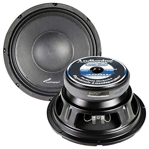 Audiopipe APSP1050 10 Inch 700 Watt Dynamic Mid Range Car Audio Loudspeaker
