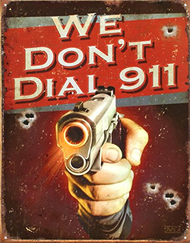 sign we dont dial 911 - 9