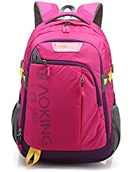 JOLLYCHIC Aoking Waterproof 17 Inch Laptop School Travel Outdoor Backpack