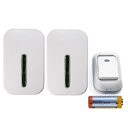 1Byone Mains Plug-in Wireless Doorbell Cordless Chime 100m Range 36 tune