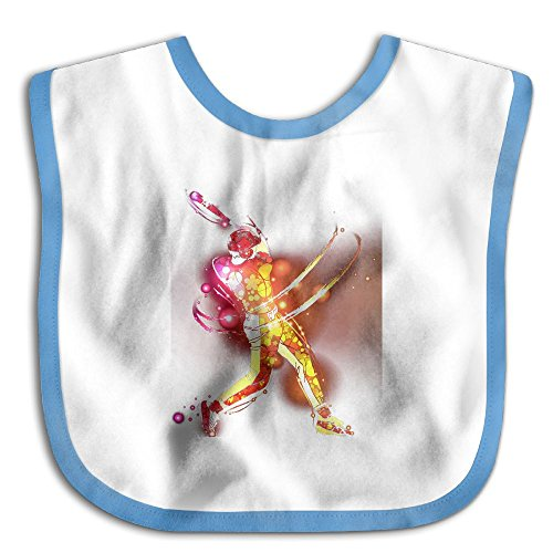 Safe Cotton Kids Lunch Bibs Baseball Player Shoot