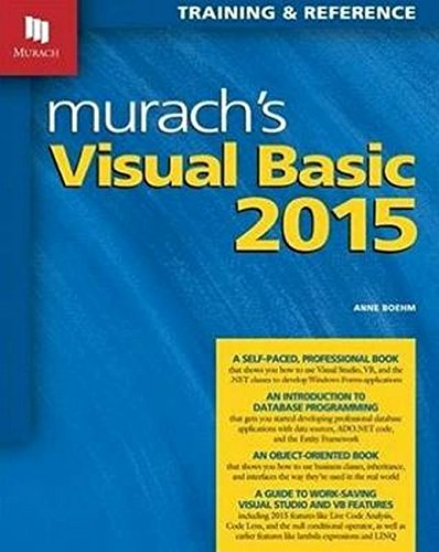 Murach's Visual Basic 2015