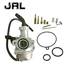 JRL PZ22 Carburetor For 110cc 125cc ATV Quad Dirt Bike Go Kart Dune Buggy Carb 22mm